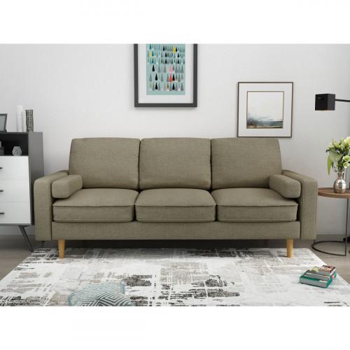 ספה תלת מושבית MARDI חום בהיר