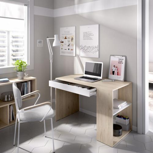 שולחן כתיבה עם תאי אחסון תוצרת ספרד דגם לאו אלון