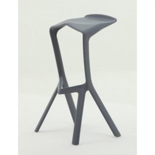 כסא בר נערם דגם Modena אפור