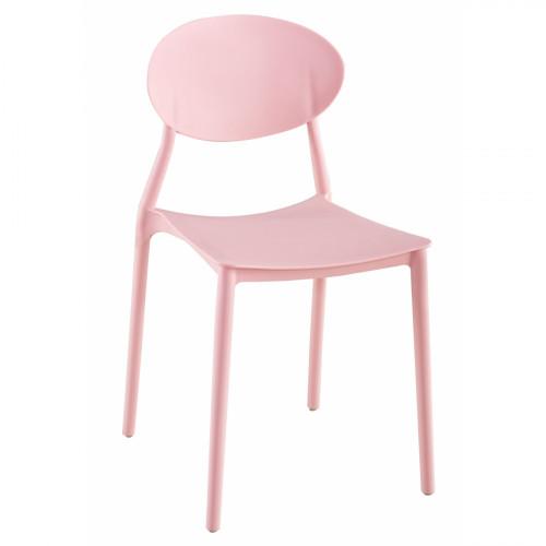 כיסא לפינת אוכל דגם GLASGOW ורוד