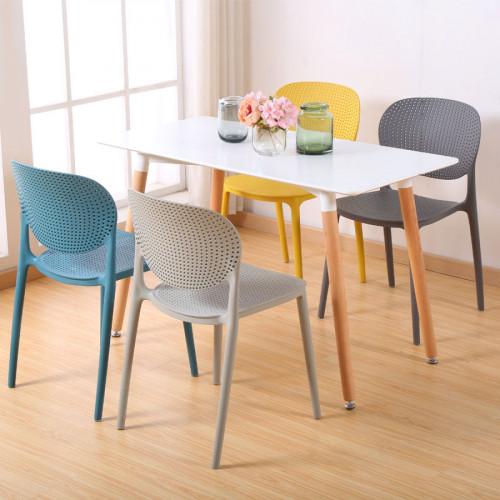 רביעיית כיסאות דגם VANCOUVER אפור X4