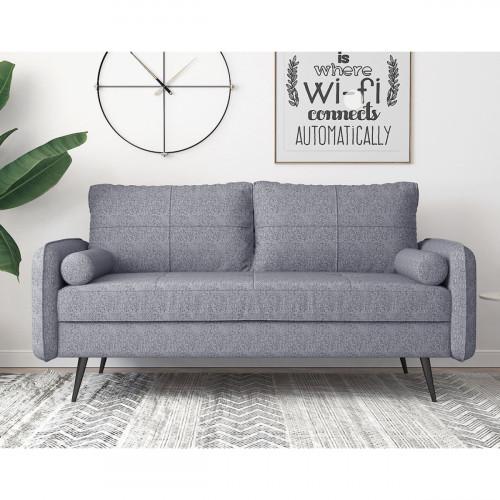 ספה תלת מושבית מעוצבת FOCUS אפור