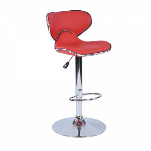 כיסא בר ארנו - אדום