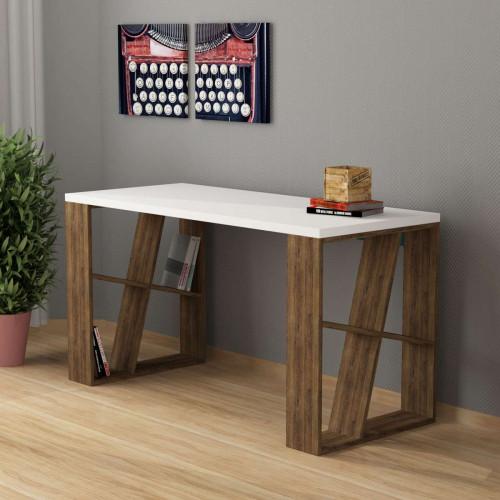 שולחן כתיבה Honey Working table אלון כהה מסדרת Decoline