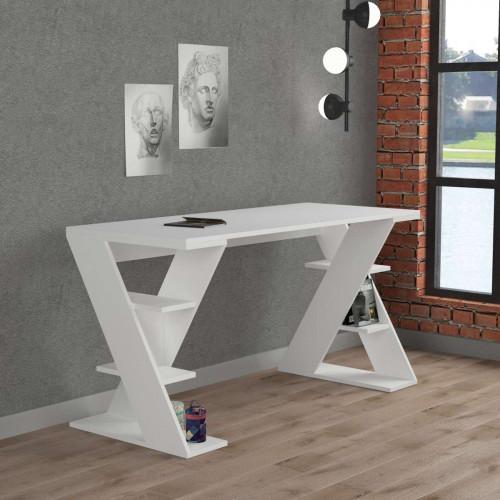 שולחן כתיבה Papillon לבן מסדרת Decoline