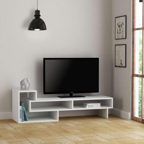 מזנון טלוויזיה Tetra לבן 136 ס