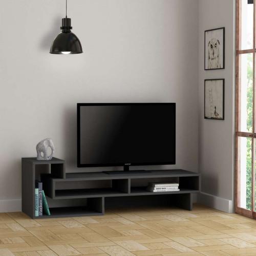 מזנון טלוויזיה Tetra אפור 136 ס