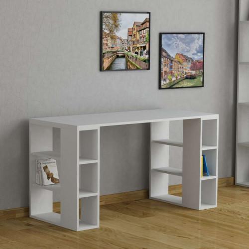 שולחן כתיבה Colmar לבן מסדרת Decoline