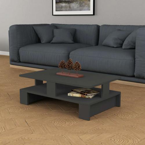 שולחן סלון Mansu אפור מסדרת Decoline