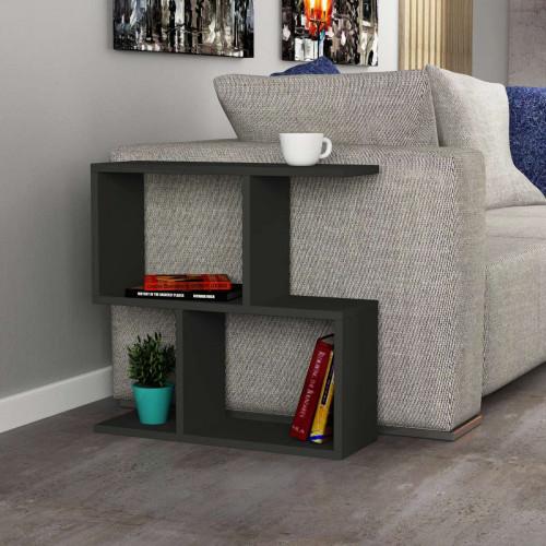 שולחן צד Homemania אפור מסדרת Decoline