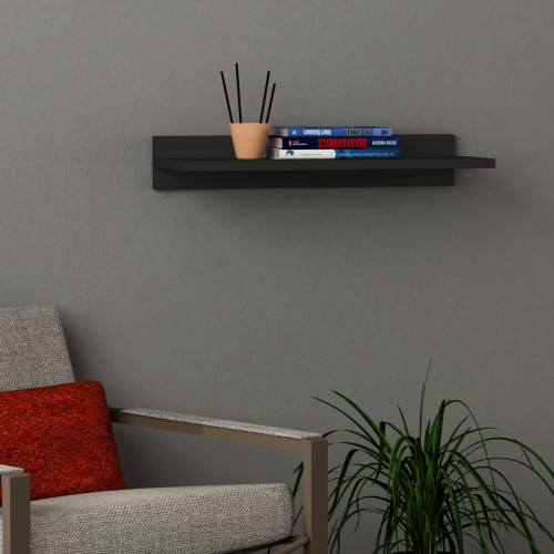 מדף Simple Shelf אפור מסדרת Decoline