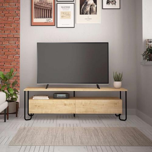 מזנון טלוויזיה פינתי Cornea TV אלון 150 ס