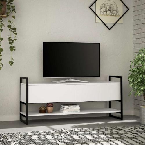 מזנון טלוויזיה Metola TV לבן 131ס