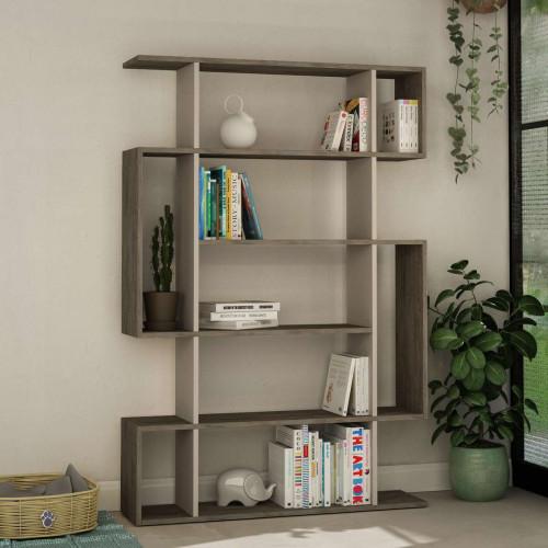כוננית Mito Bookcase קפה/מוקה מסדרת Decoline