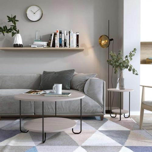 שולחן סלון  CORRO COFFEE  TABLE מוקה מסדרת Decoline