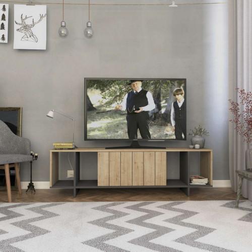 מזנון טלוויזיה ZITANO TV אלון/אפור 160 ס