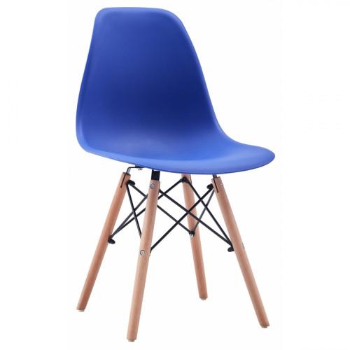 רביעיית כיסאות דגם BARI כחול X4
