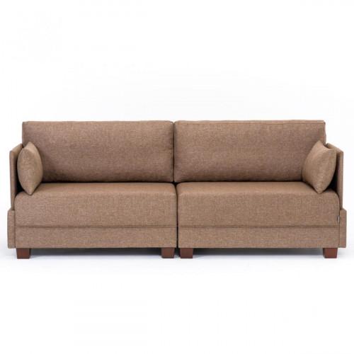 ספה תלת FLY חום מסדרת Mezza