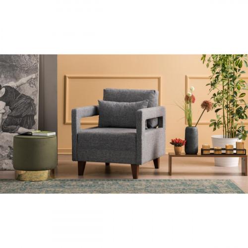 כורסא Comfort אפור מסדרת Mezza