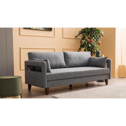 ספה תלת Comfort אפור מסדרת Mezza