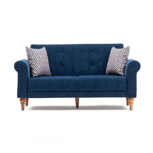 ספה נפתחת למיטה דו Madona כחול מסדרת Mezza