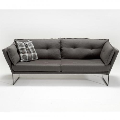 ספה תלת Relax בד אריג אפור במסדרת Mezza