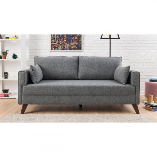 ספה דו Bella אפור במסדרת Mezza