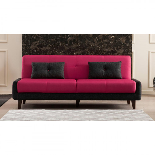 ספה נפתחת למיטה תלת Kanavel אדום מסדרת Mezza