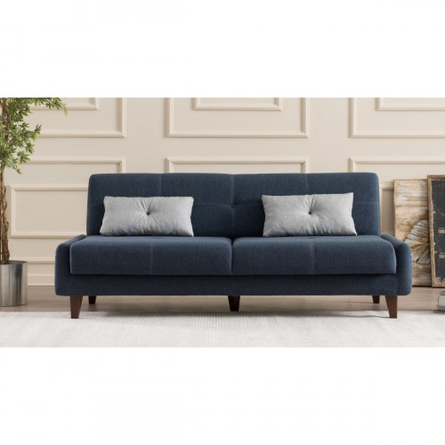 ספה נפתחת למיטה תלת Kanavel כחול מסדרת Mezza