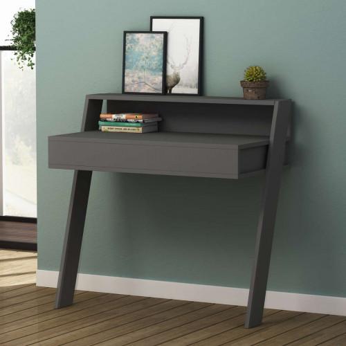 שולחן כתיבה Cowork Working table אפור מסדרת Decoline