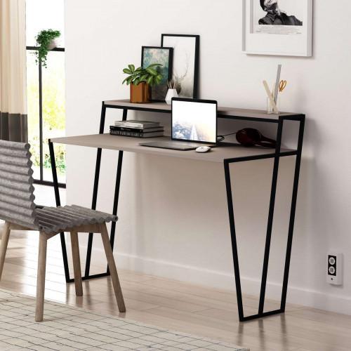 שולחן כתיבה Pal Working Table מוקה מסדרת Decoline