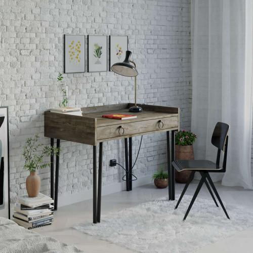 שולחן כתיבה Sponge Study Table קפה מסדרת Decoline