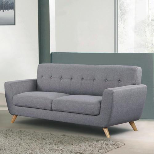 ספה תלת מושבית מרשימה ונוחה בעיצוב רטרו דגם גרייס
