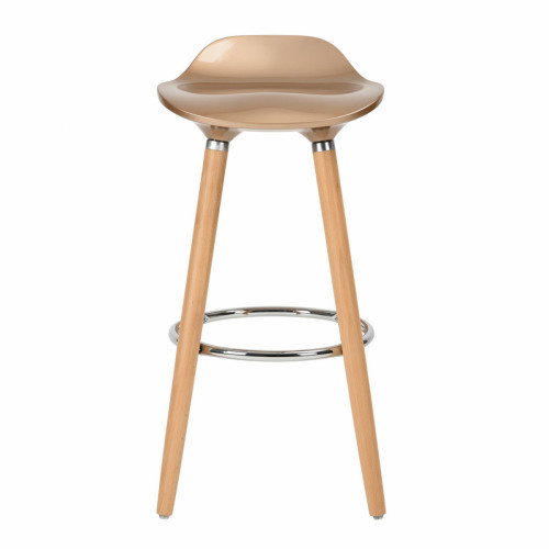 כיסא בר דגם יסמין בצבע זהב