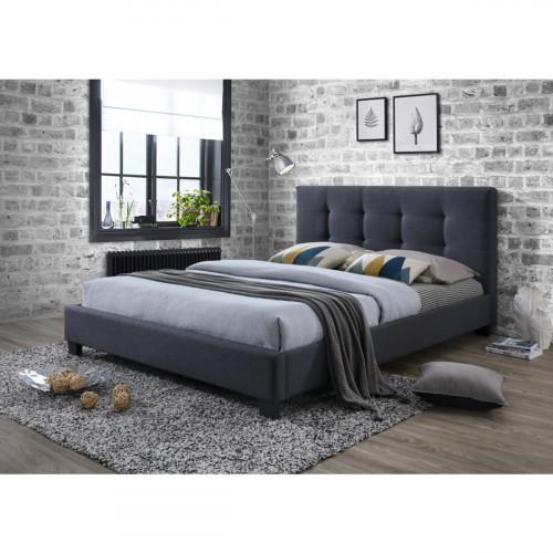 מיטה זוגית מרופדת בד 140X190 דגם פוקוס