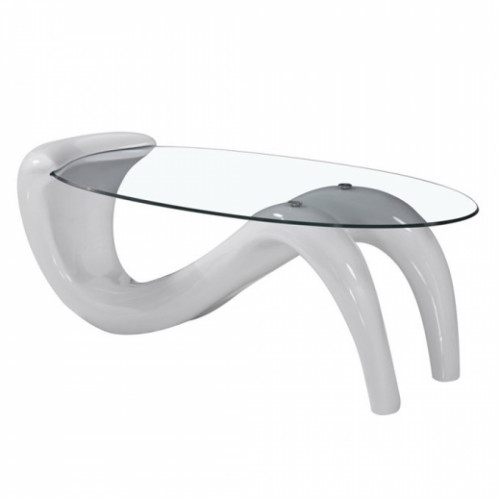 שולחן סלוני VENICE לבן