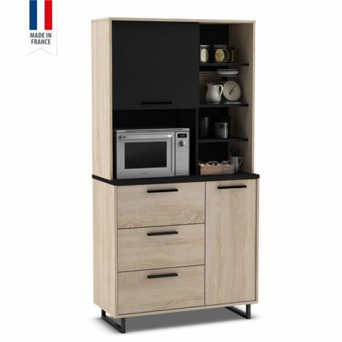 ארון שירות למטבח עם תא למיקרוגל תוצרת צרפת דגם אינדי