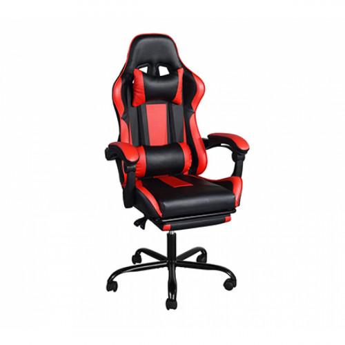 כיסא גיימר בעיצוב ארגונומי נפתח למצב שכיבה וריפוד דמוי עור דגם בליס