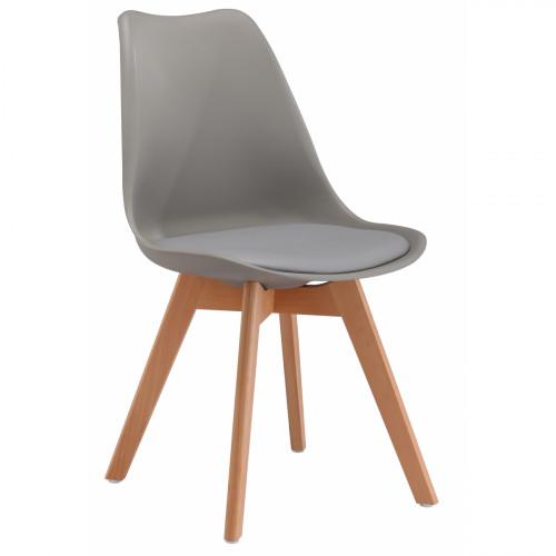 כיסא לפינת אוכל דגם TULIP אפור