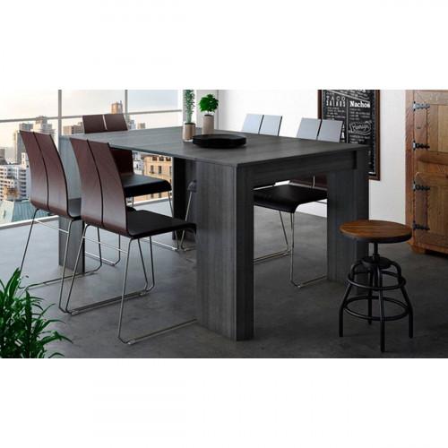 שולחן קונסולה מודולרי DOMINIC אפור מט נפתח עד 3 מטרים
