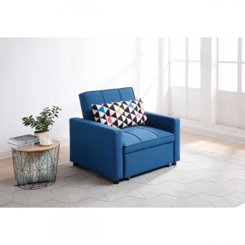 כורסא נפתחת למיטה דגם VIVA I כחול