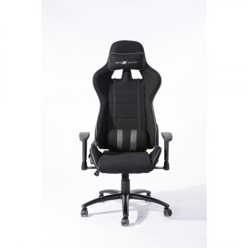 כיסא גיימינג/מנהלים איכותי דגם נוריס שחור-אפור