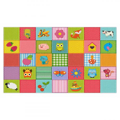 פיויסי קוביות צבעוניות לילדים - במגוון מידות