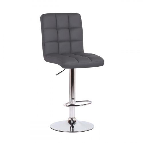 כיסא בר דגם קומו אפור