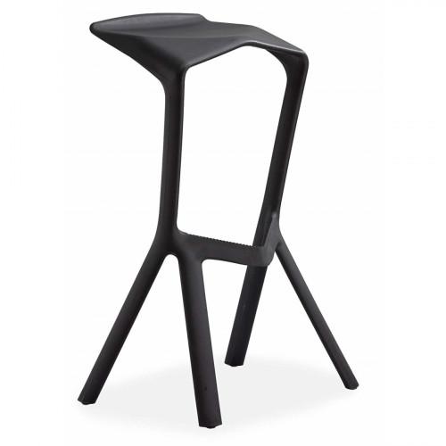 כסא בר נערם דגם Modena שחור
