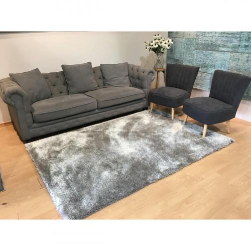 שטיח שאגי ברוז' אפור 160X230