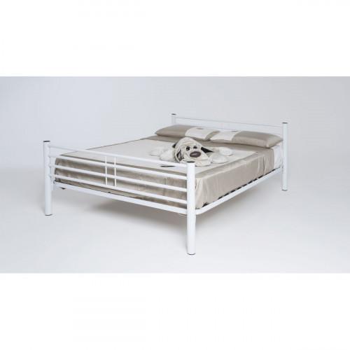 מיטה זוגית מתכת המתאימה למזרון 160/200 ס''מ KALIA אופוויט