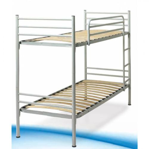 """מיטת קומותיים ממתכת מתאימה למזרנים 90*190 ס""""מ VOLARE אופוויט"""