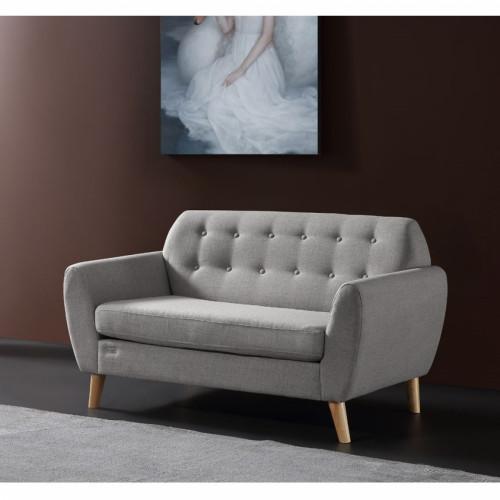 ספה דו מושבית ROMANOFF  אפור