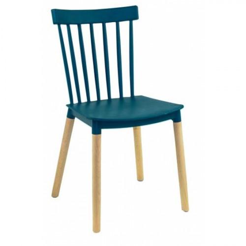 כיסא לפינת אוכל דגם BISTROT כחול